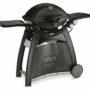 57010004A14 2014 Weber Q 3200 Gas Grill LP Black EU Product Facing Right